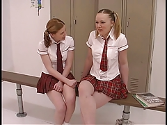 2 teenage bitches in student..