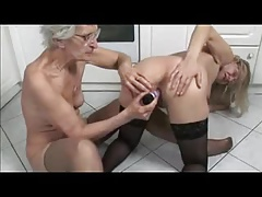 French mature and granny  in..