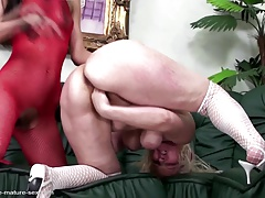 Mature mom fisted firm by..