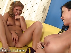 LesbianOlderYounger Love..